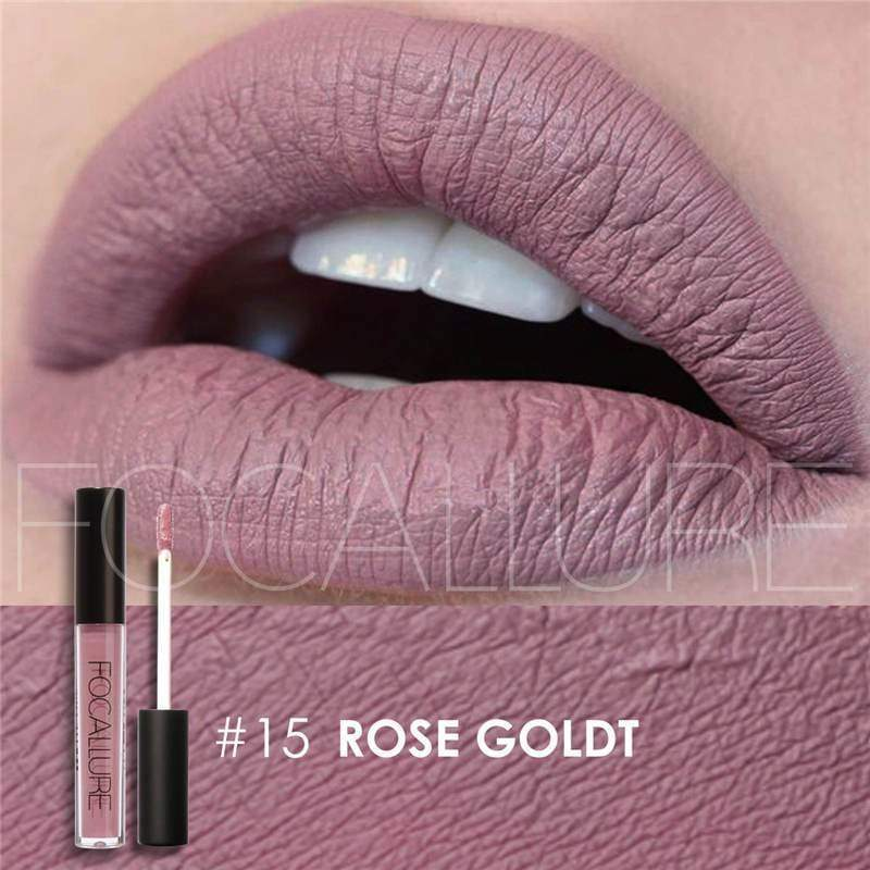 Waterproof long-lasting matte liquid lipstick - 15 - Lip Gloss