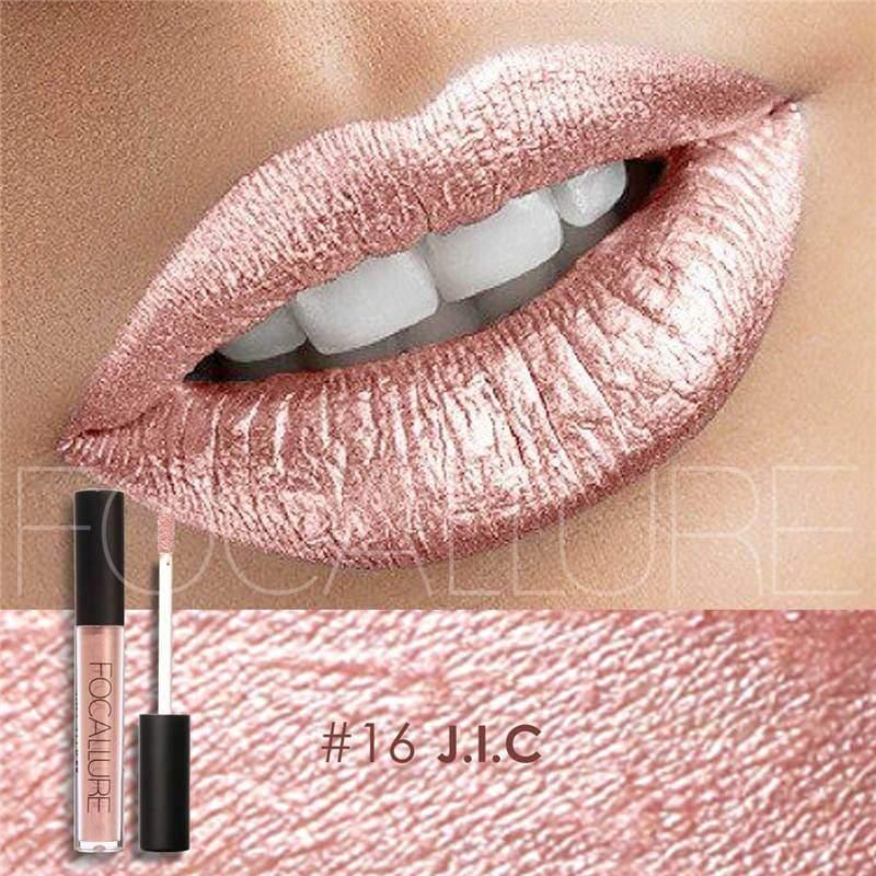 Waterproof long-lasting matte liquid lipstick - 16 - Lip Gloss