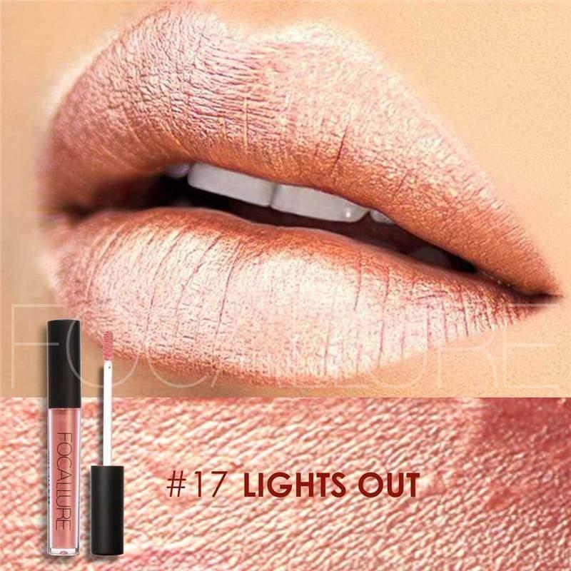 Waterproof long-lasting matte liquid lipstick - 17 - Lip Gloss
