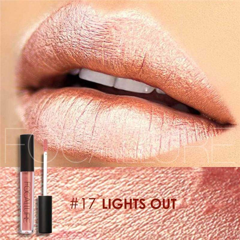 Waterproof long-lasting matte liquid lipstick - 17 - Lip Gloss