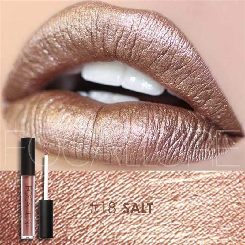 Waterproof long-lasting matte liquid lipstick - 18 - Lip Gloss
