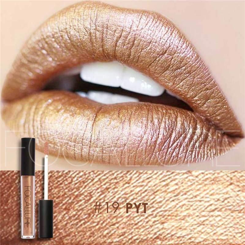 Waterproof long-lasting matte liquid lipstick - 19 - Lip Gloss