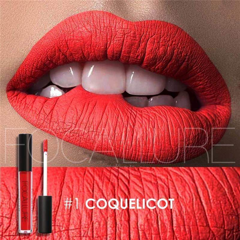Waterproof long-lasting matte liquid lipstick - 1 - Lip Gloss