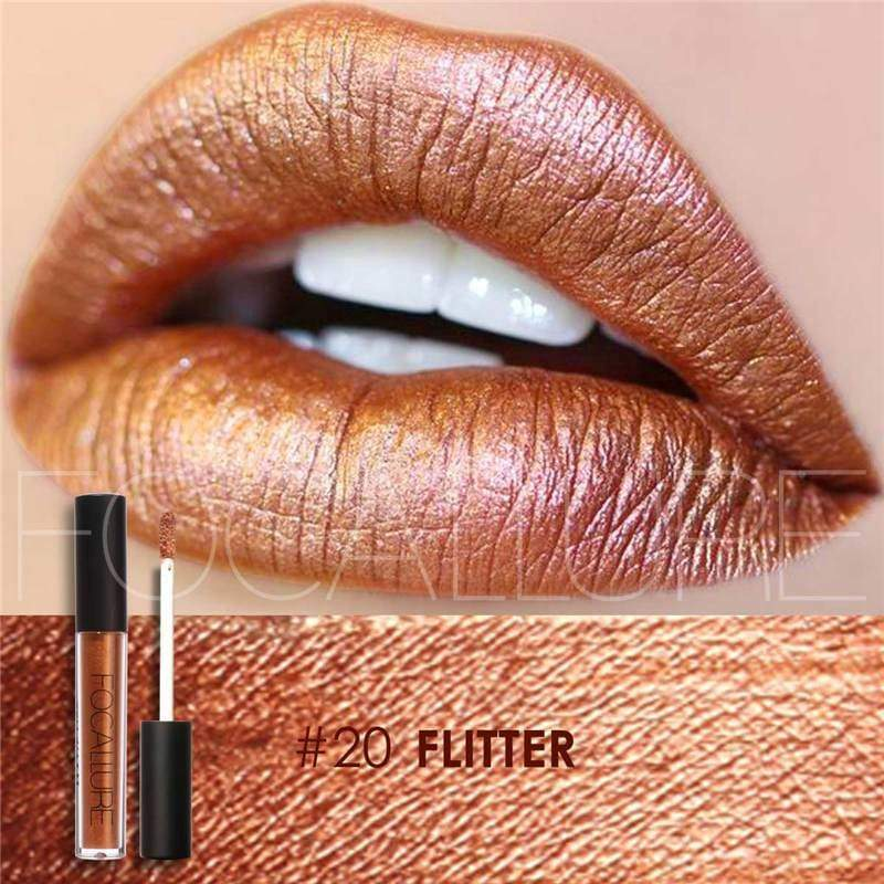 Waterproof long-lasting matte liquid lipstick - 20 - Lip Gloss