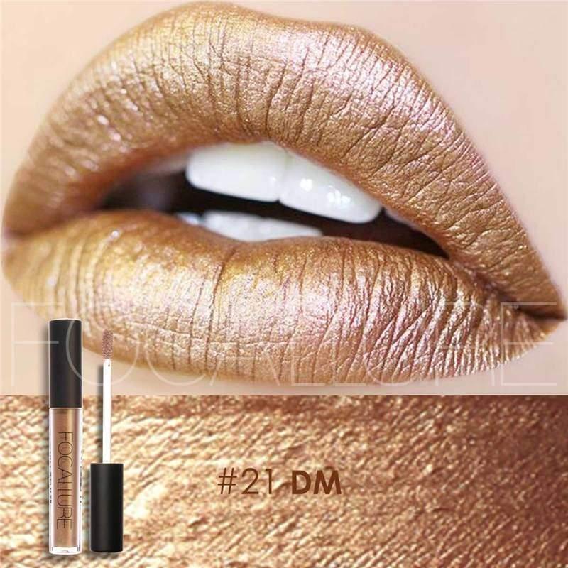 Waterproof long-lasting matte liquid lipstick - 21 - Lip Gloss