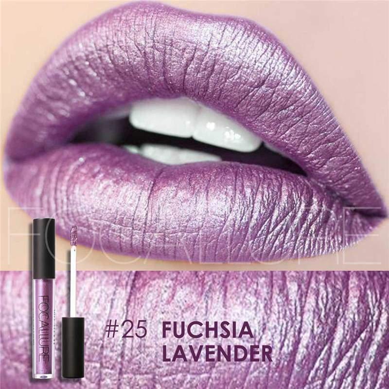 Waterproof long-lasting matte liquid lipstick - 25 - Lip Gloss
