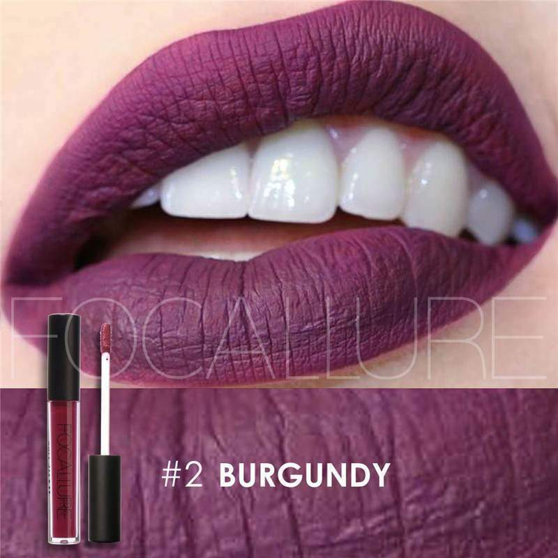 Waterproof long-lasting matte liquid lipstick - 2 - Lip Gloss