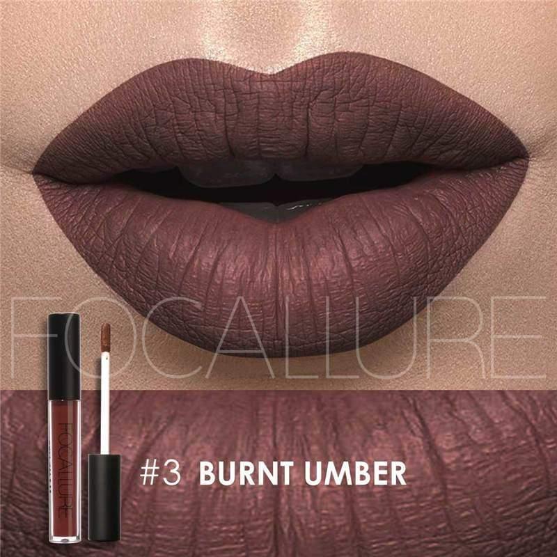 Waterproof long-lasting matte liquid lipstick - 3 - Lip Gloss
