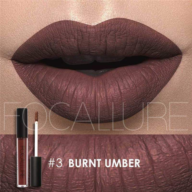 Waterproof long-lasting matte liquid lipstick - 3 - Lip Gloss