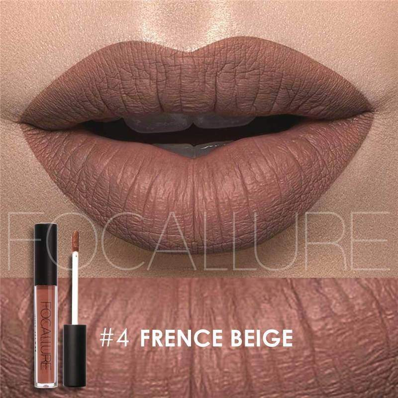 Waterproof long-lasting matte liquid lipstick - 4 - Lip Gloss