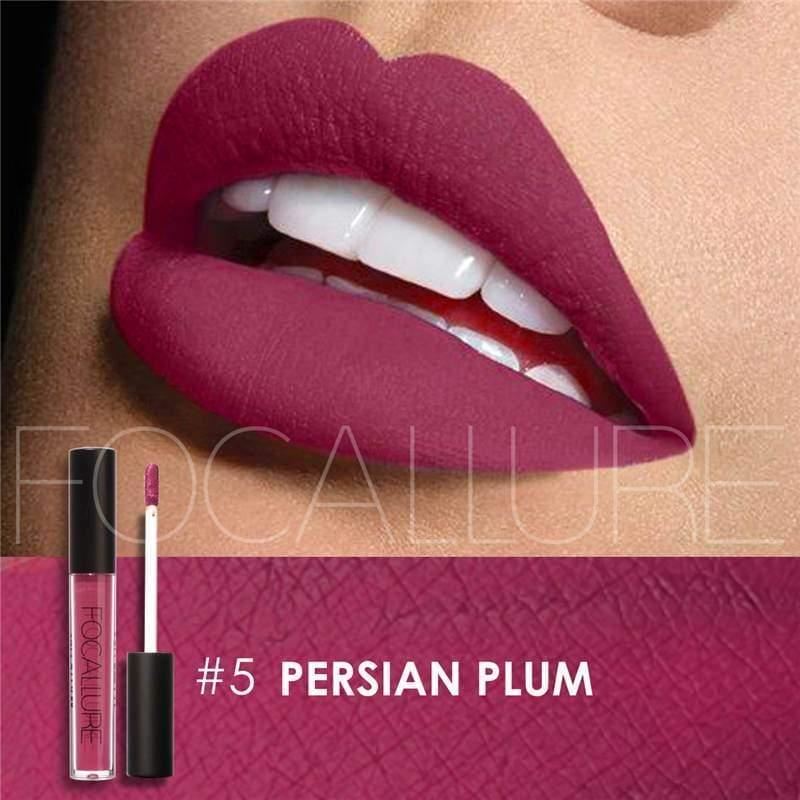 Waterproof long-lasting matte liquid lipstick - 5 - Lip Gloss