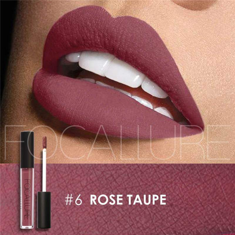 Waterproof long-lasting matte liquid lipstick - 6 - Lip Gloss