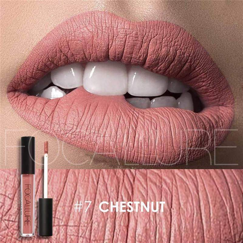 Waterproof long-lasting matte liquid lipstick - 7 - Lip Gloss