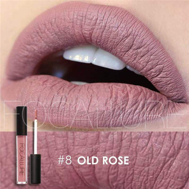Waterproof long-lasting matte liquid lipstick - 8 - Lip Gloss