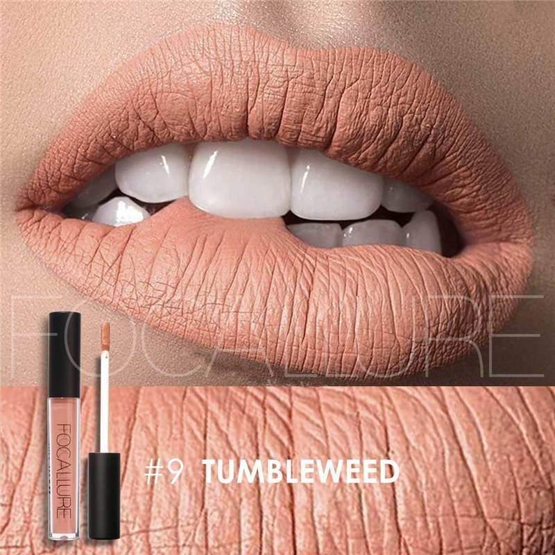 Waterproof long-lasting matte liquid lipstick - 9 - Lip Gloss