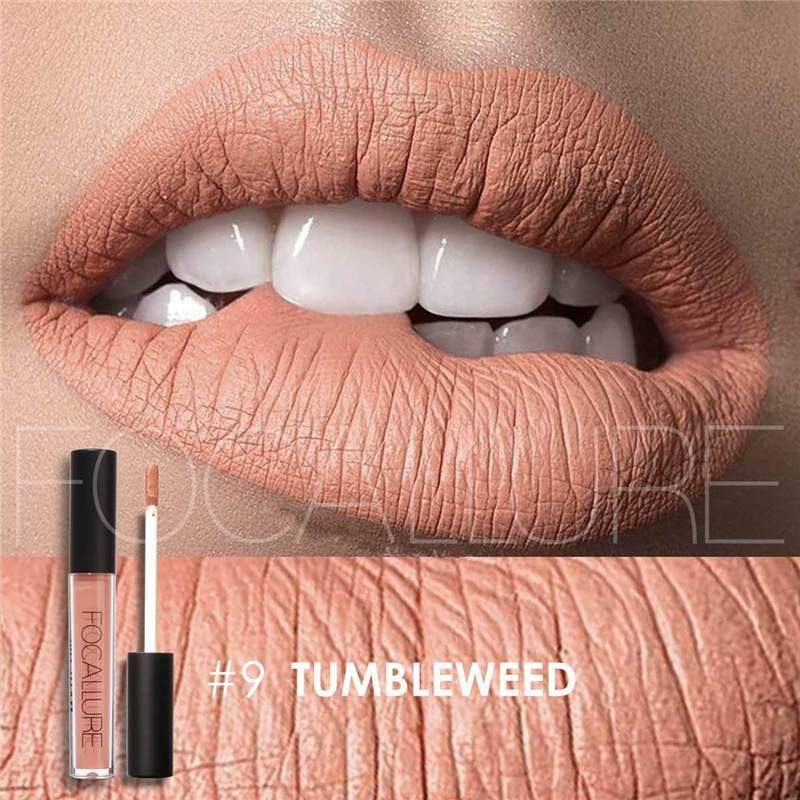 Waterproof long-lasting matte liquid lipstick - 9 - Lip Gloss