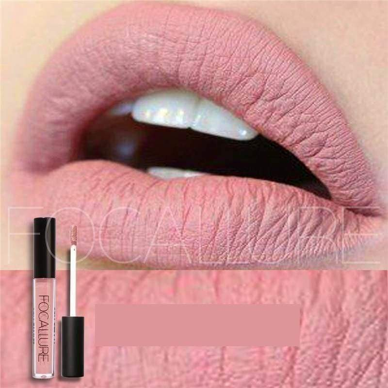Waterproof long-lasting matte liquid lipstick - Lip Gloss