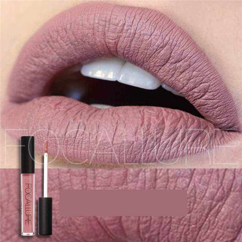 Waterproof long-lasting matte liquid lipstick - Lip Gloss