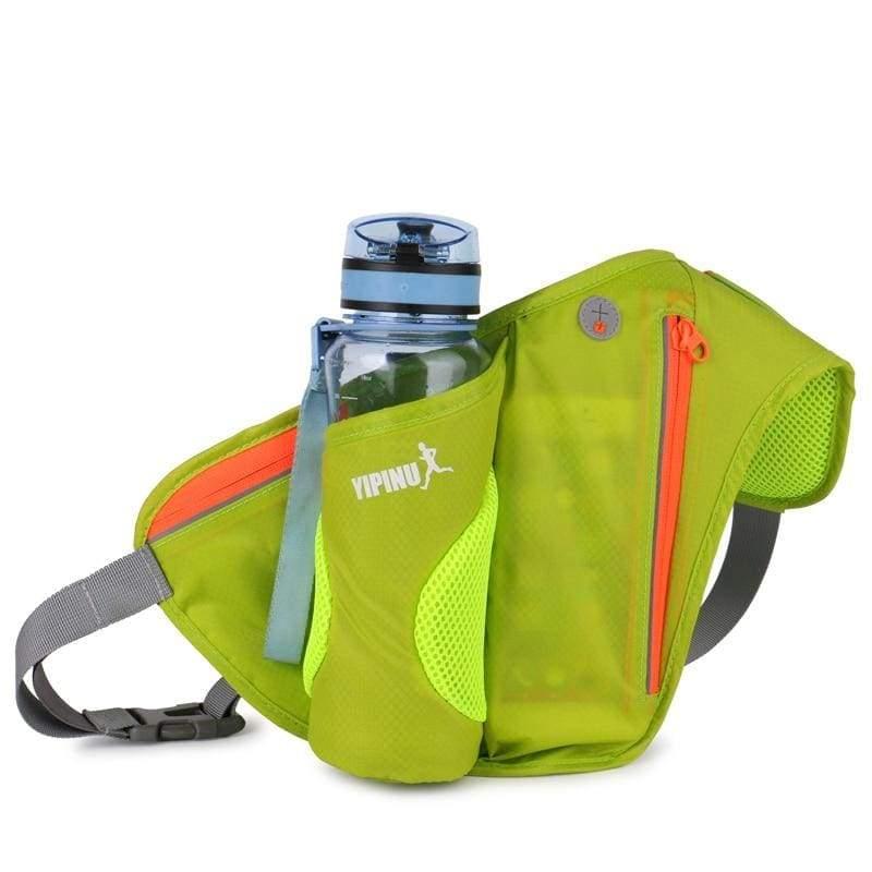 Water waist pack for outdoor sport - Green - Running Bags