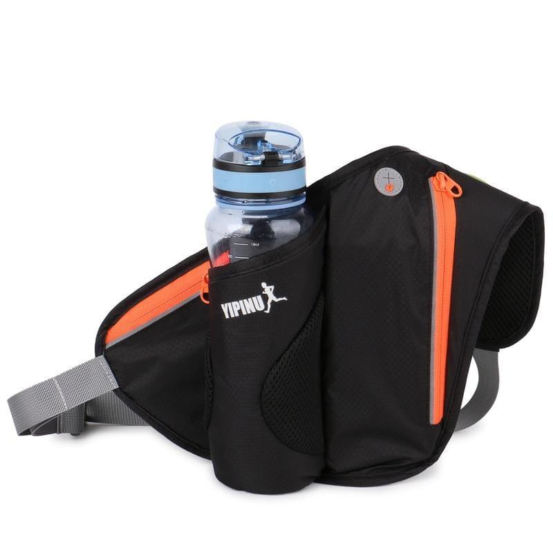 Water waist pack for outdoor sport - Black - Running Bags
