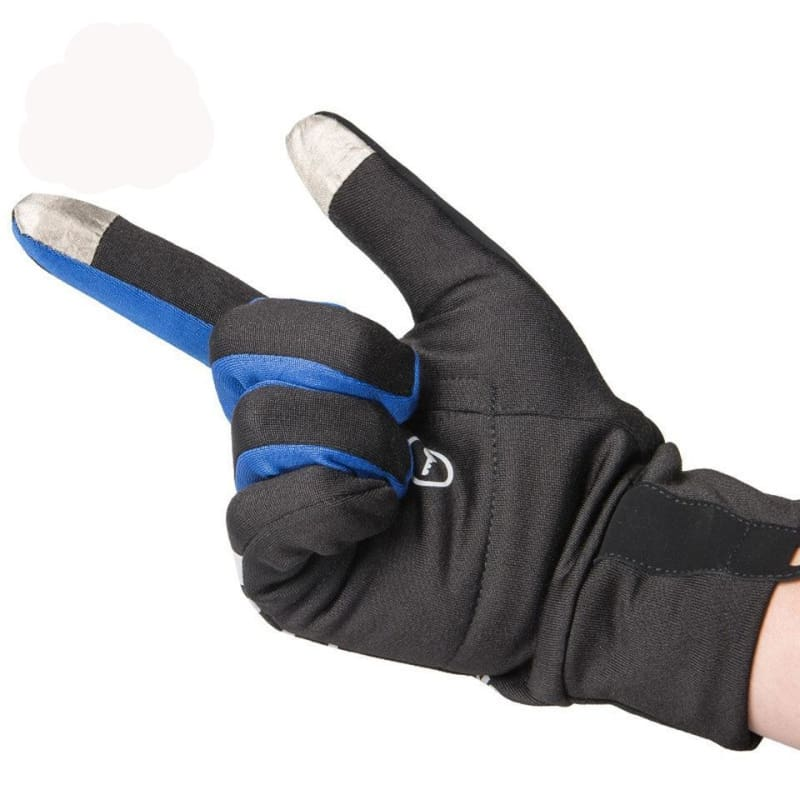 Winter Thermal Gloves - Gray L - Running Gloves