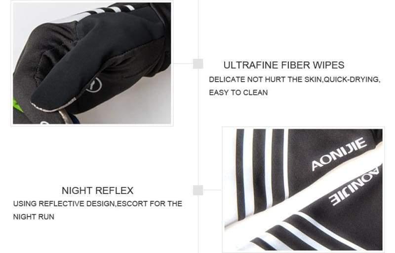 Winter Thermal Gloves - Running Gloves