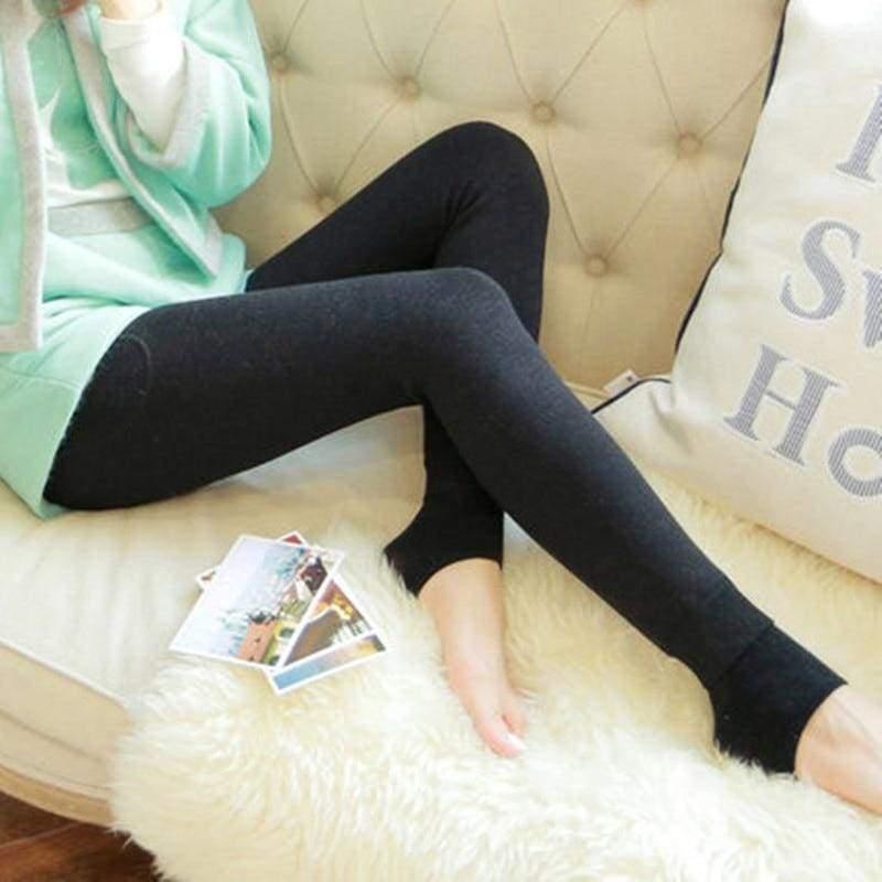 Winter Women Leggings - Black - Leggings