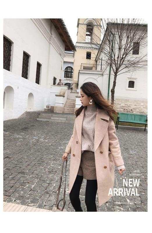 Winter Wool Coat Women Just For You - Women Coat