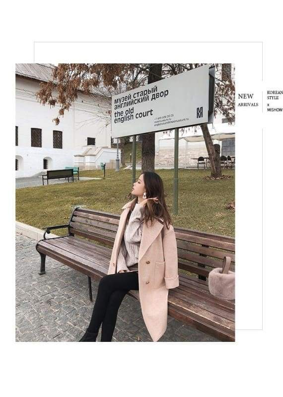 Winter Wool Coat Women Just For You - Women Coat