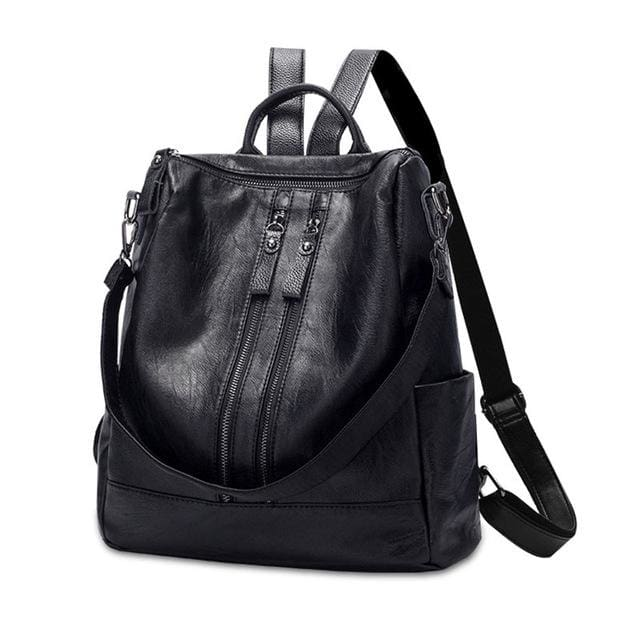 Women Backpack Fashion - Black
