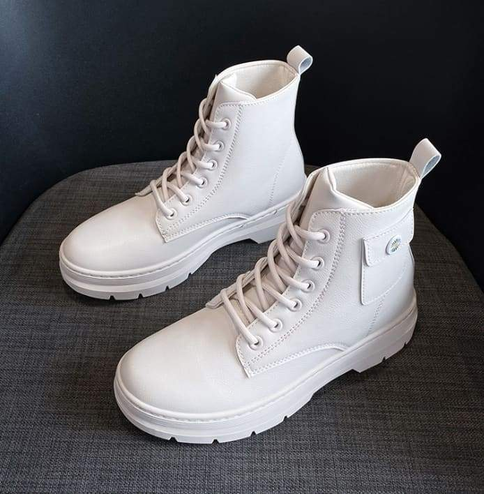 Women Boots Genuine Leather shoes - 35A - Women Boots