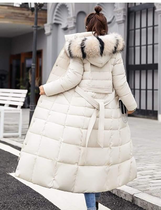 Women Winter Jacket Fashion Slim Just For You - Beige / XL - Women Winter Jacket
