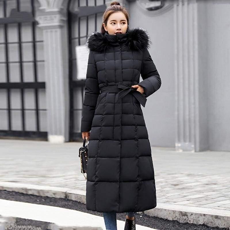 Women Winter Jacket Fashion Slim Just For You - Black / M - Women Winter Jacket