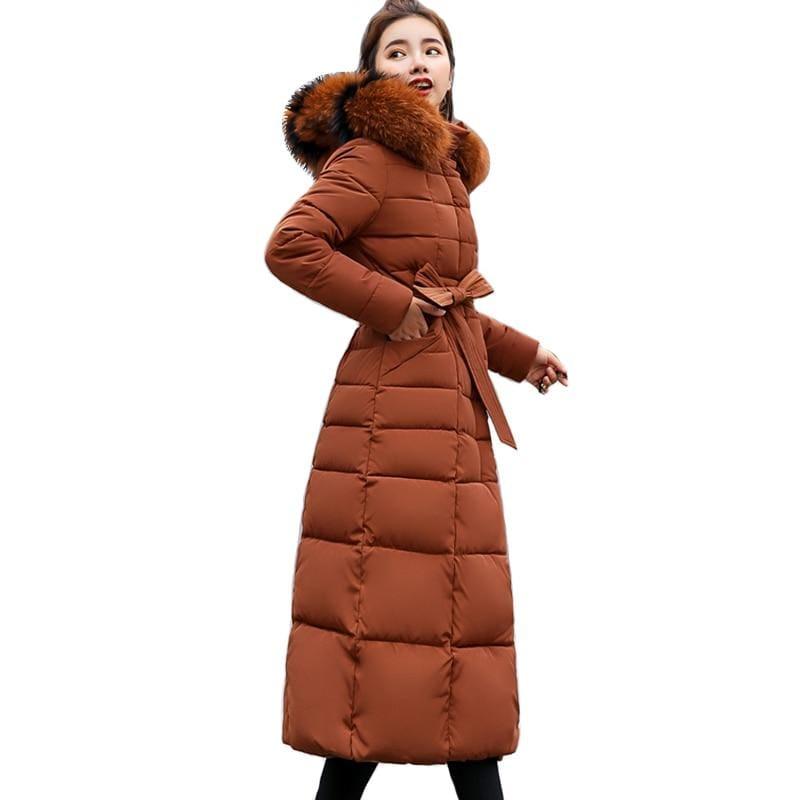 Women Winter Jacket Fashion Slim Just For You - Caramel / XL - Women Winter Jacket