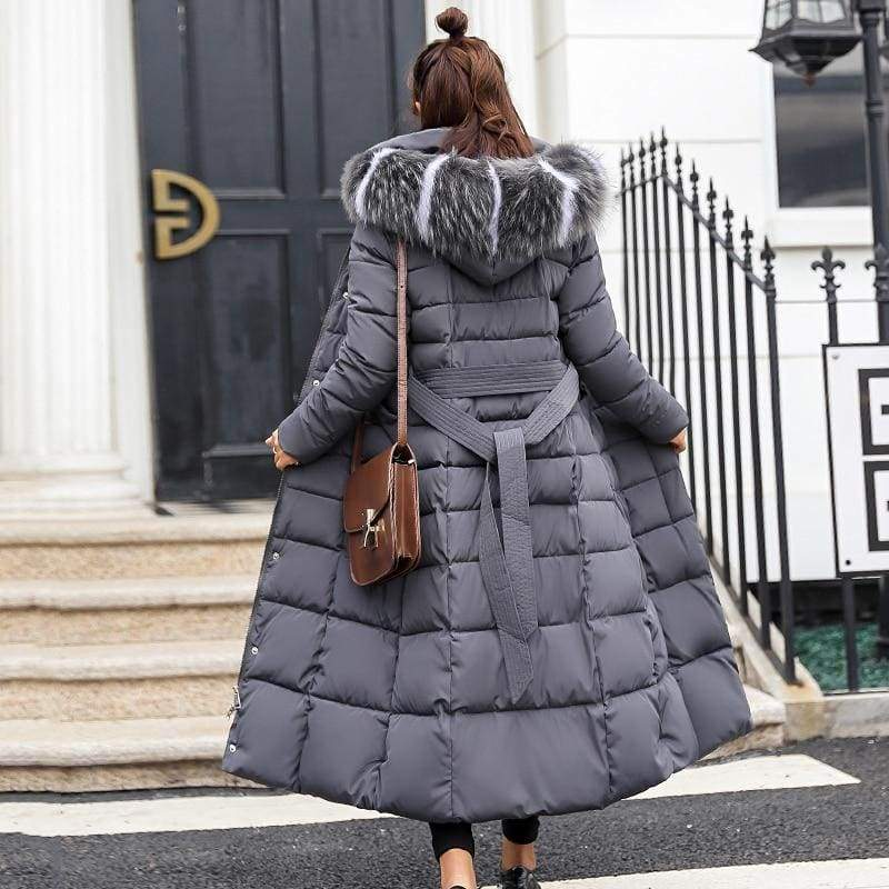Women Winter Jacket Fashion Slim Just For You - Gray / XL - Women Winter Jacket