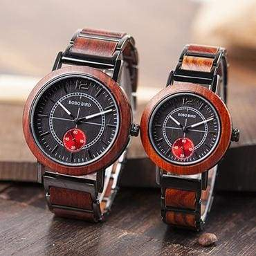 Wooden Watches for Lovers - Men and Women - Men and Women set - Watches