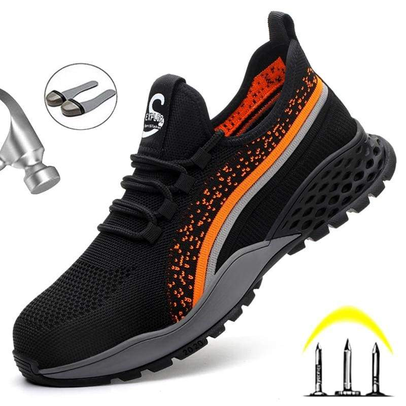 Work Safety Boots Puncture Proof With Steel toes Shoes - Safety Shoes