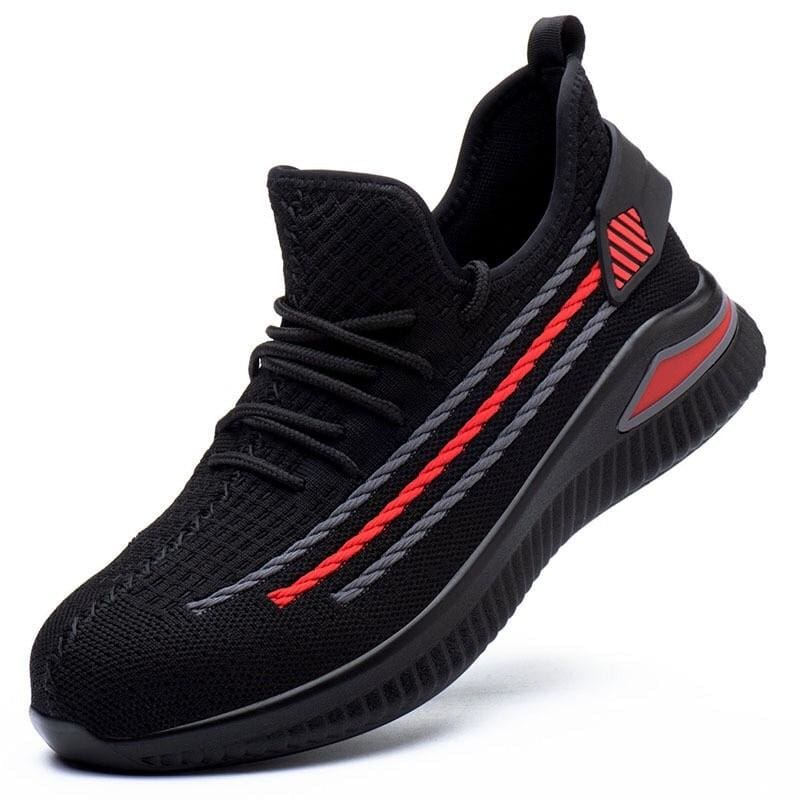 Work Safety Shoes Just For You - Black red / 38 - Safety Shoes