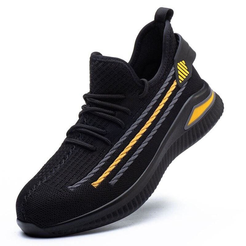 Work Safety Shoes Just For You - Black yellow / 38 - Safety Shoes