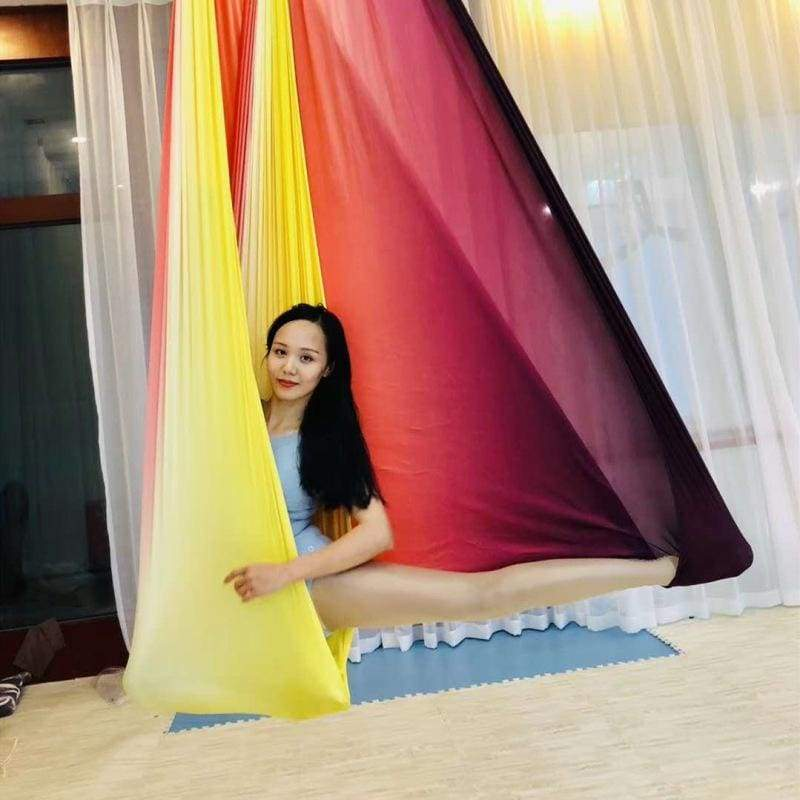 Aerial Anti-gravity Yoga Hammock Just For You - Yellow - Gym Fitness