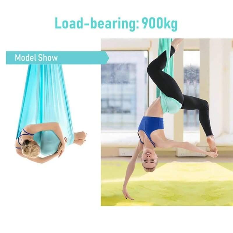 Yoga Hammock Aerial Flying Swing - Gym Fitness