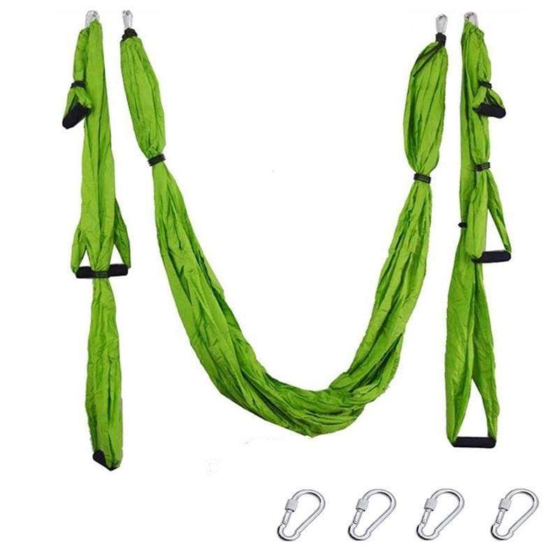 Yoga Hammock Anti-gravity Swing Parachute - Light green - Gym Fitness