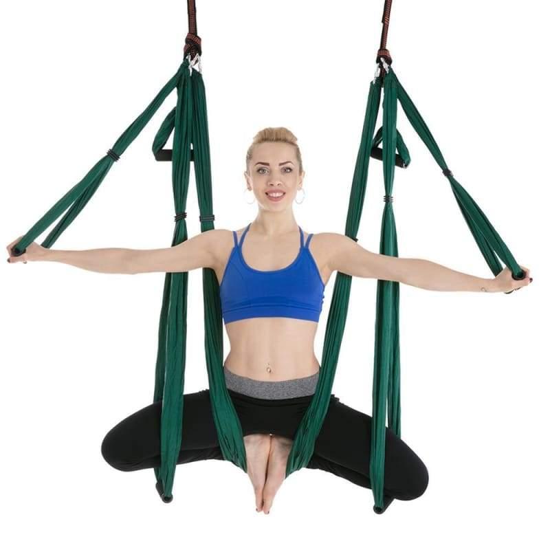 Yoga Hammock Home Gym Hanging Belt Swing - Gym Fitness