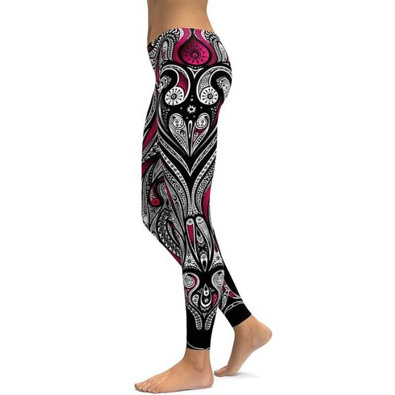 Yoga Pants For Women - 5007T28 / S - Leggings