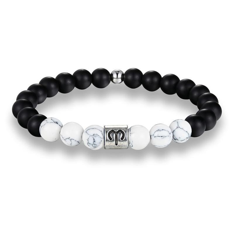 Zodiac Beaded Bracelets - Aries - Charm Bracelets