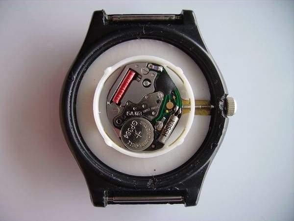 Armbanduhr Rueckseite