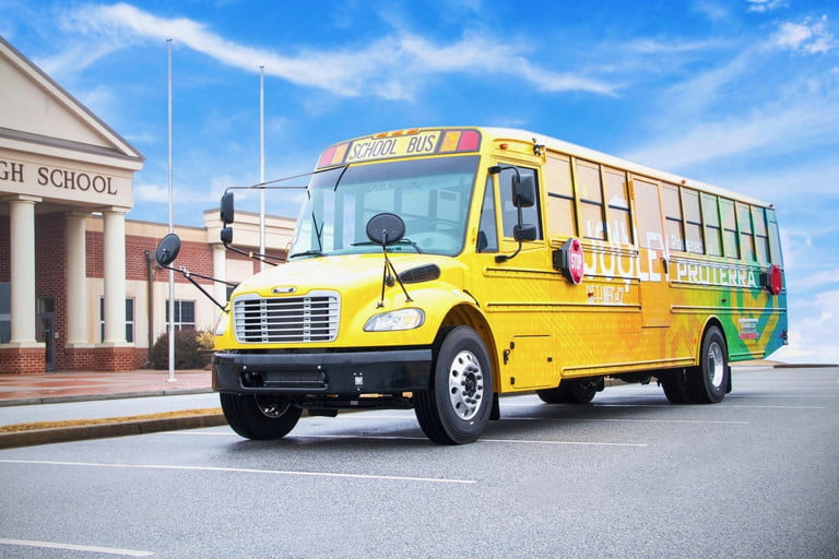 Electric-School-Buses