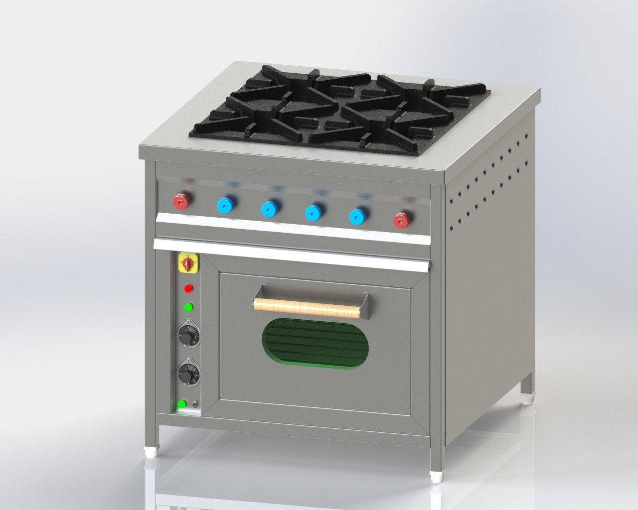 Four Burner with oven 2