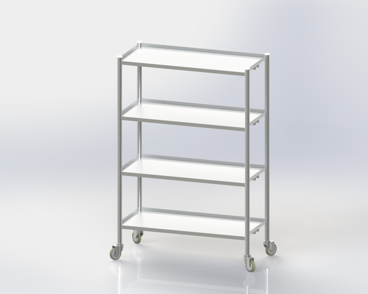 4 Storage Rack / Standard / Mobile