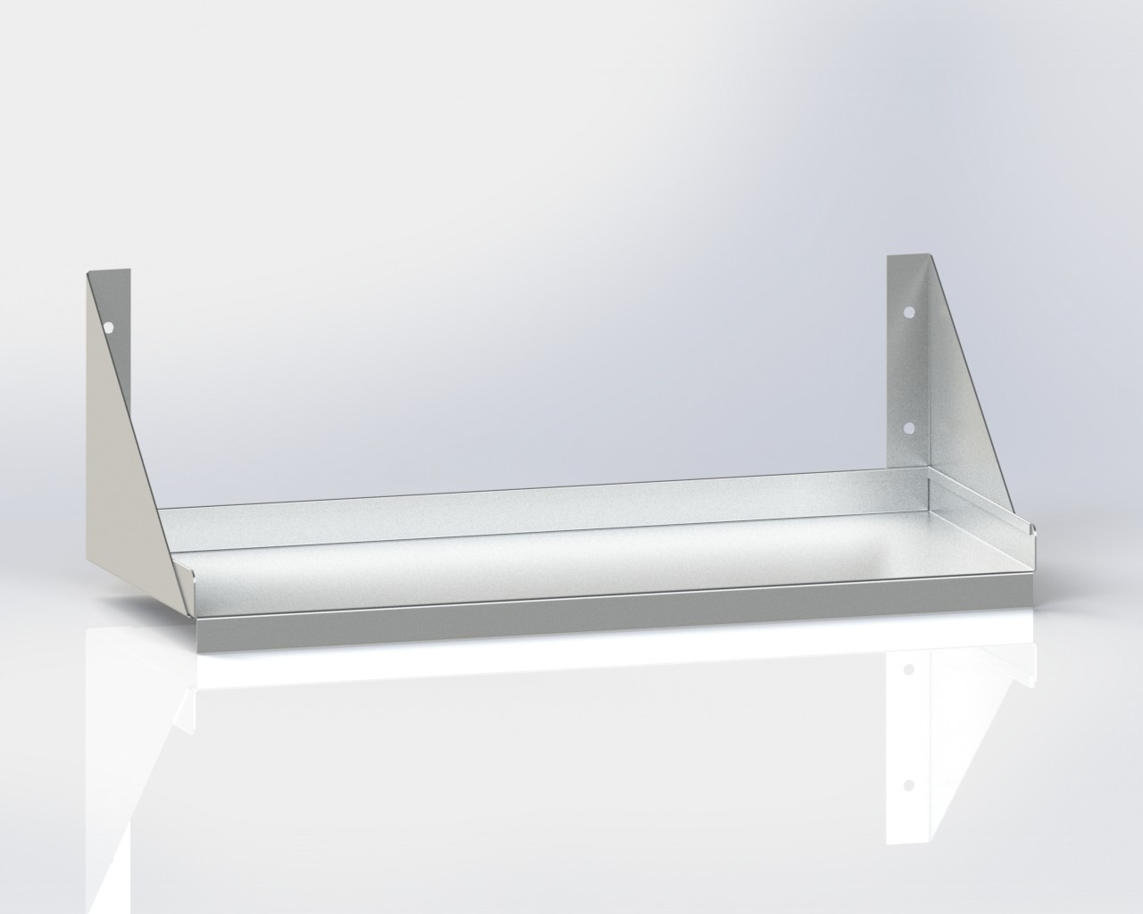Wall Mounted Shelf /Below Bracket
